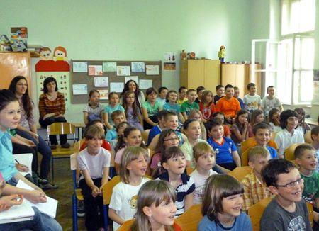 Učenicima su se svidjele Kušecove pjesme