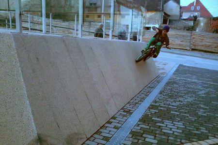 Vožnja po zidu Matiji nije problem
