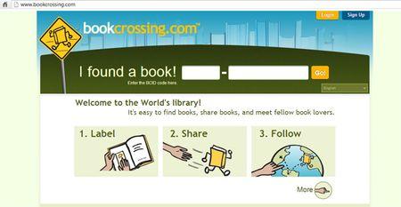 Službene stranice projekta BookCrossing