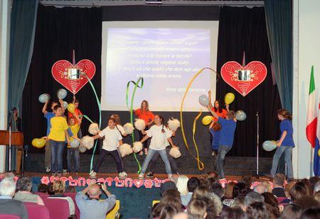 Šećer na kraju priredbe bili su plesači petog razreda
