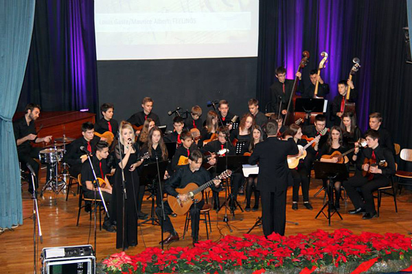 Uz orkestar zasvirali su i zapjevali učitelji glazbe
