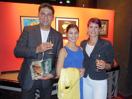 Marta s roditeljima