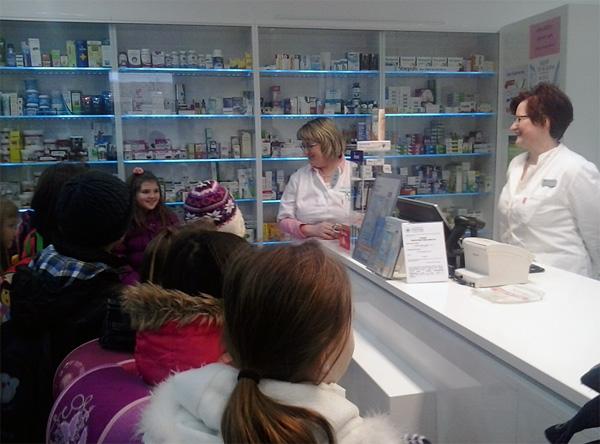Učenici su posjetili ljekarnu i dom zdravlja