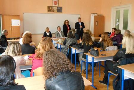 Radionicu za mentore posjetio je križevački gradonačelnik Branko Hrg