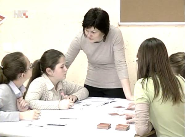 Glagoljaši su pokazali kako uče glagoljicu