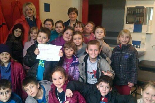 Učenici su posjetili Hitnu pomoć i fizioterapeutsku ordinaciju