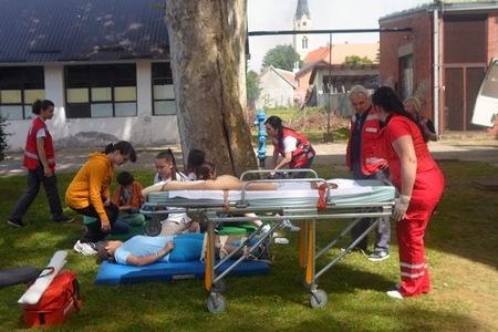 """Ekipe medicinske pomoći zbrinule su """"ranjenike"""""""