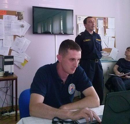 Predavanje za učitelje o zaštiti od požara