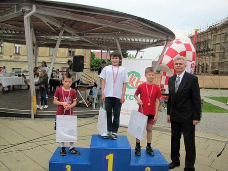 Fabijan Šašek drugi i Roberto Gregurić treći u konkurenciji dječaka 1. i 2. razreda