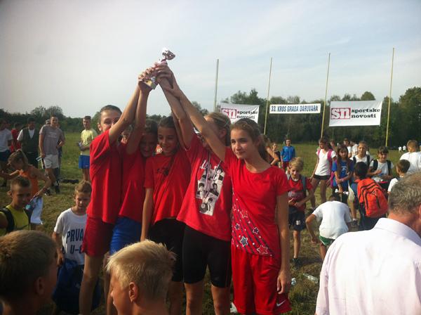 Sedmašice su ekipno zauzele 1. mjesto