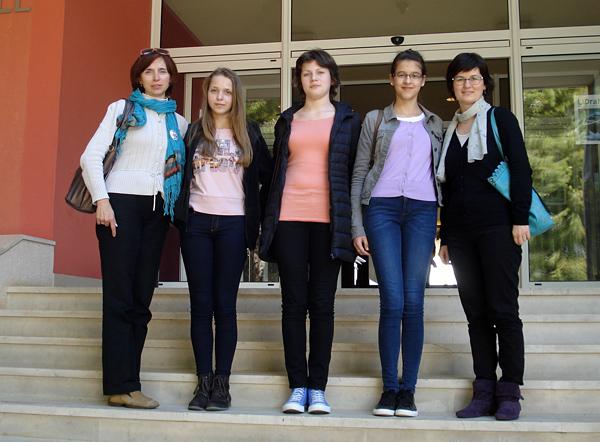 Zrinka, Matea i Dorotea s mentoricama na državnom LiDraNu u Primoštenu