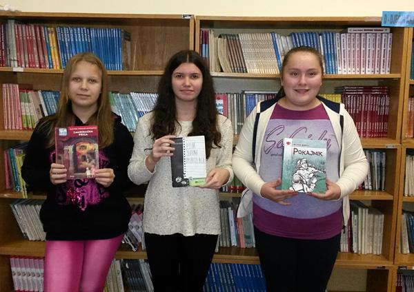 Dorotea Picig, Ivana Harča i Ana Kuharović predstavljat će našu školu na županijskom natjecanju