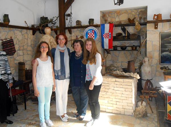 U društvu s gospođom Dunjom Gaupp iz Švicarske, voditeljicom projekta