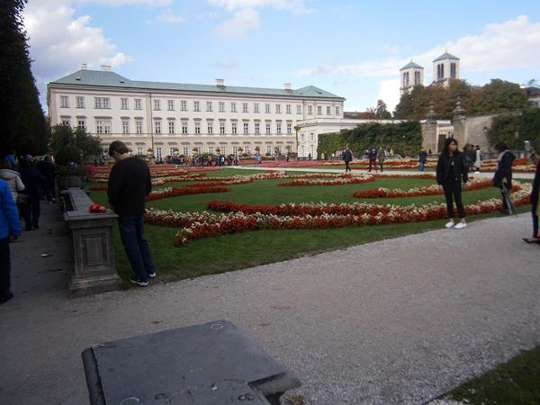 Dvorac Mirabell u Salzburgu.