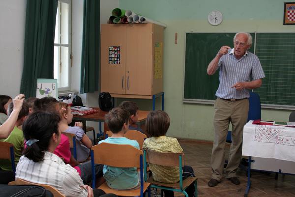 U svibnju je učenicima predstavio književnik Mladen Kušec