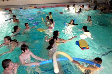 Učenici su dvaput dnevno uživali na bazenima