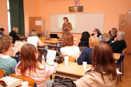 Okrugli stol za mentore vodila je profesorica Nada Babić