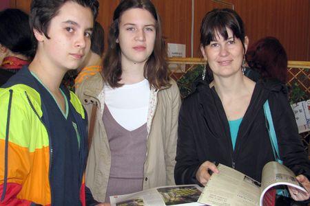 Dino i Matea s mentoricom Martinom Valec-Rebić