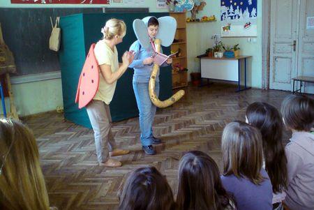 Neki su se učenici okušali u glumi