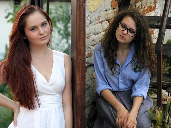 Mlade gimnazijalte i volonterke Tara i Klara