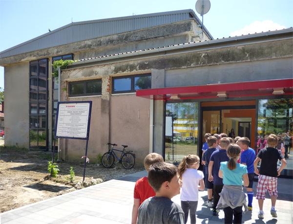 Novi prostor Gradske knjižnice nalazi se u kompleksu stare vojarne