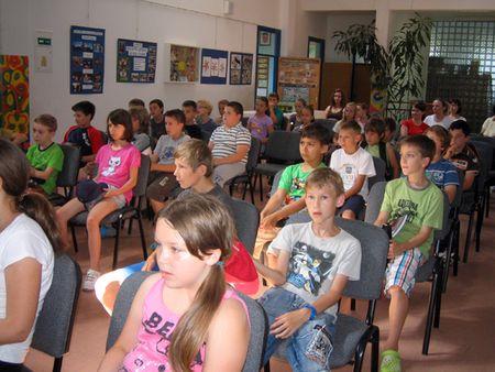 Učenici su se hranili i učili u prostorima Osnovne škole Kalnik