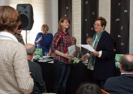 Dodjela nagrade Irmi i učiteljici Danijeli Zagorec