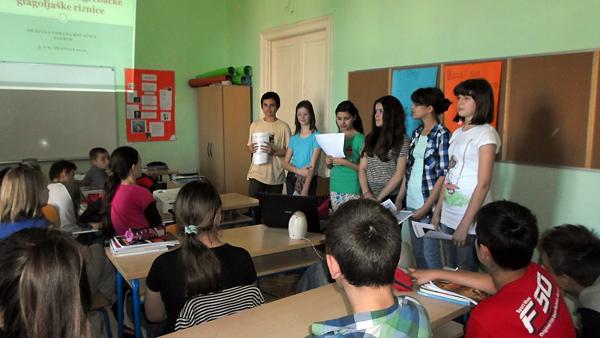 Glagoljaši su predstavili što su naučili o glagoljici u Zagrebu