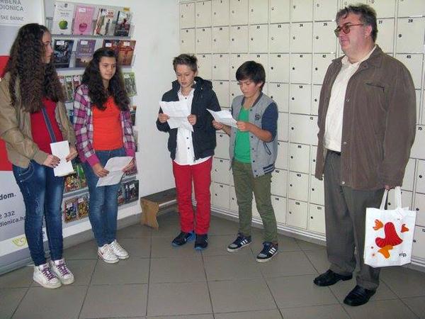 Program su pripremili učenici 7. a s učiteljicom Martinom Tumpom