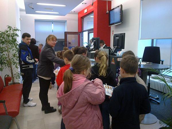 Učenici su saznali mnogo toga o novcu i njegovu čuvanju.