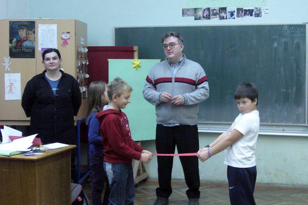 Učenici su igrali razne matematičke igre, računali, crtali i bojali