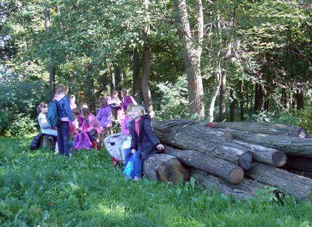 U šumi su učili i zabavljali se