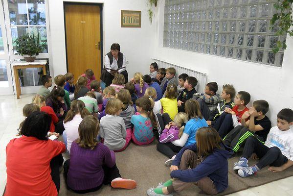 Učenicima su čitale njihove učiteljice Renata, Anđelka i Jasmina