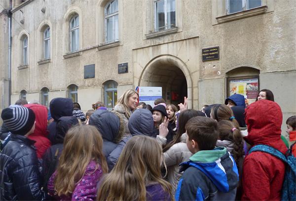 Učenici su se upoznali s poviješću križevačkih trgova i kulturnih ustanova