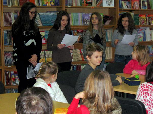 Šestasice su čitale dječje ljubavne pjesme učenicima 2. razreda