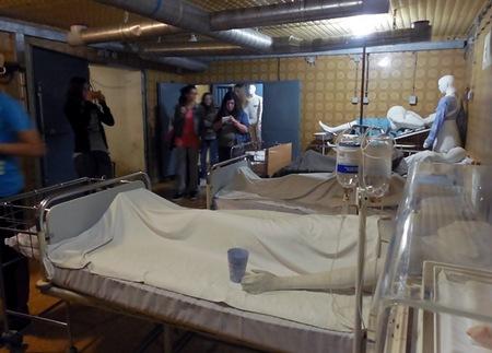 U muzeju u podrumu vukovarske bolnice