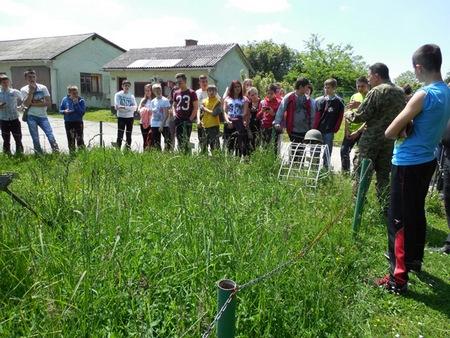 Prikaz minskoga polja u vukovarskoj vojarni