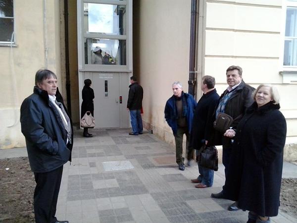 Tehničkom pregledu nazočili su predstavnici vlasti i izvođača radova