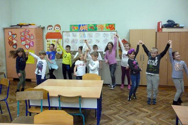 Dramsko-plesna skupina učiteljice Sandre Poje.